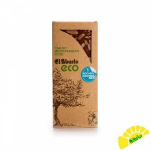 TURRON CHOCOLATE ALMENDRA ECO