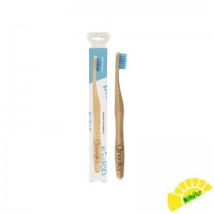 CEPILLO DENTAL BAMBU AZUL