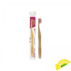 CEPILLO DENTAL BAMBU ROSA