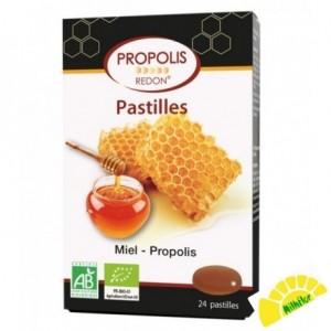 PASTILLAS PROPOLIS MIEL 24...