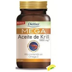 MEGA ACEITE DE KRILL 60 CAPS
