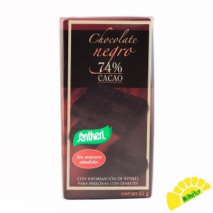 CHOCOLATE T NEGRO 74% S/AZ