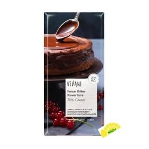 CHOCOLATE 70% PARA COCINAR...