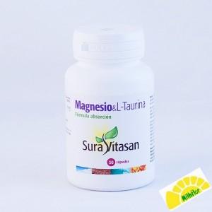 MAGNESIO  L-TAURINA 30 CAPS