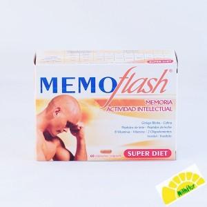 MEMOFLASH  60 COMPR 360 MG
