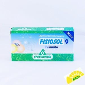 FISIOSOL 9 BISMUTO  20 VIALES