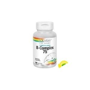 B COMPLEX 75 A/R 100 CAPS