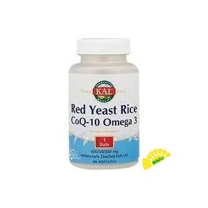 RED YEAST RICE COQ10  OMEGA...