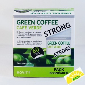 PACK GREEN COFFE 60 CAPS