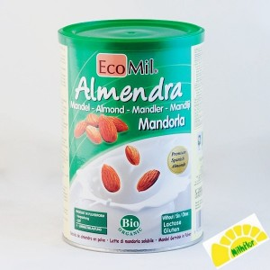 ECOMIL ALMENDRA BIO 400 GRS