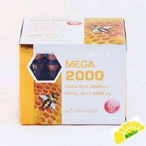 MEGA 2000 MG 20 VIALES
