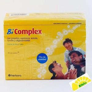 B COMPLEX 20 AMPOLLAS HERBORA