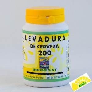 LEVADURA CERVEZA 200 COMPRIMID