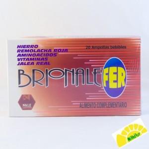 BRIONALE FER 20 AMPOLLAS