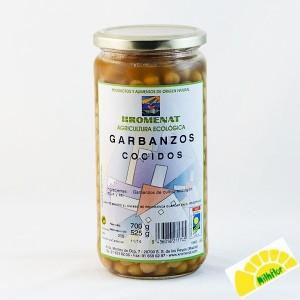 ECO GARBANZOS COCIDOS 500GRS