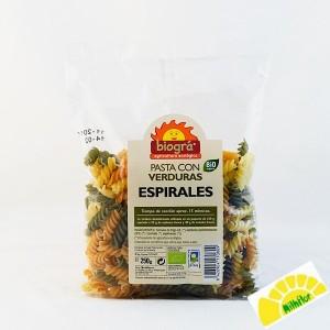 ESPIRALES CON VERDURAS 250...