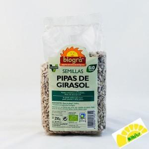 PIPAS DE GIRASOL 250 GR BIOGRA