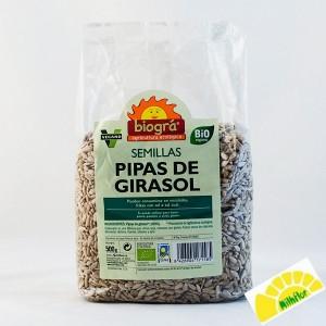 PIPAS DE GIRASOL 500GRS BIO