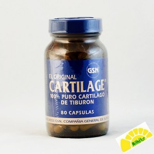 CARTILAGE 80 CAPSULAS X 740 MG