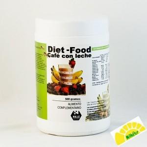 DIET FOOD CAFE CON LECHE...
