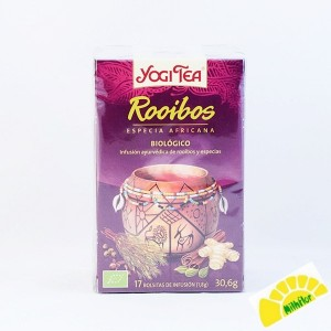 YOGI TEA ROOIBOS BOLSITAS 15