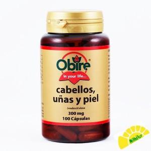 CABELLOS UÑA Y PIEL 100...