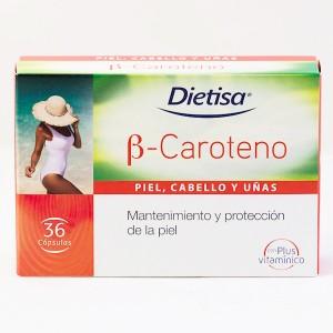 B CAROTENO EVERJEUNE 36 CAPS