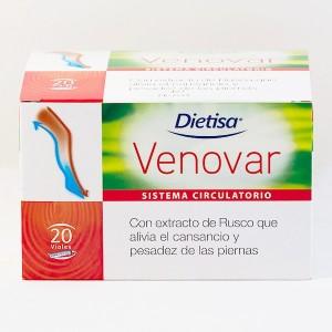 DIETKUM VENOVAR 20 VIALES