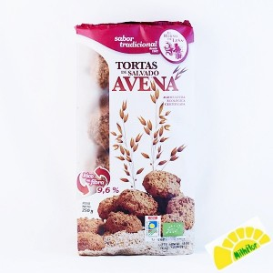 TORTITAS DE SALVADO AVENA...