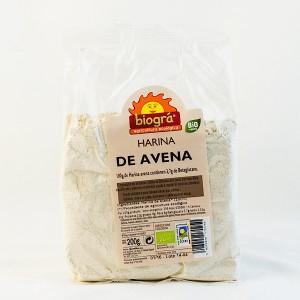 HARINA DE AVENA BIOGRA 200 GR