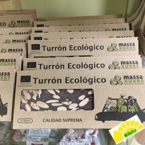 TURRON ECOLOGICO CHOCOLATE...