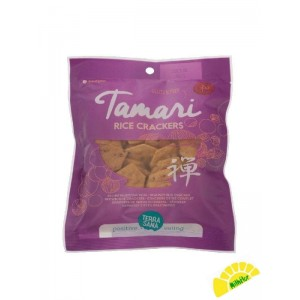 CRAKERS DE ARROZ TAMARI 60 GR